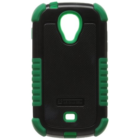 Duo Shield Durable Hybrid Hard Shell and Silicone Gel Case for Samsung Galaxy Light T399 - Non-Retail Packaging - Black/Dark Green, Dual layer shock.., By Beyond Cell