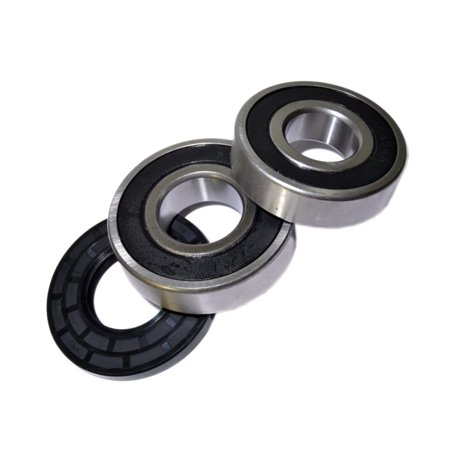 HQRP Bearing and Seal Kit for Frigidaire FCCW3000FS4 FTF1040AS0 FTF1240FS0 FTF1240FS1 FTF1240FS2 FTF530ES0 Front Load Washing Machine Washer Tub + HQRP