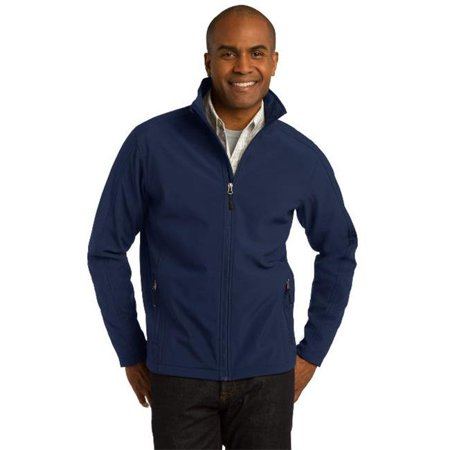 Port Authority® Core Soft Shell Jacket. J317 Dress Blue Navy L - image 1 of 1