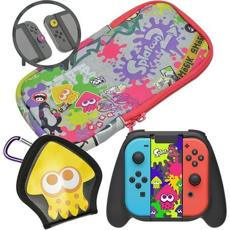 Hori Splatoon 2 Nintendo Switch Deluxe Splat Pack Starter Kit