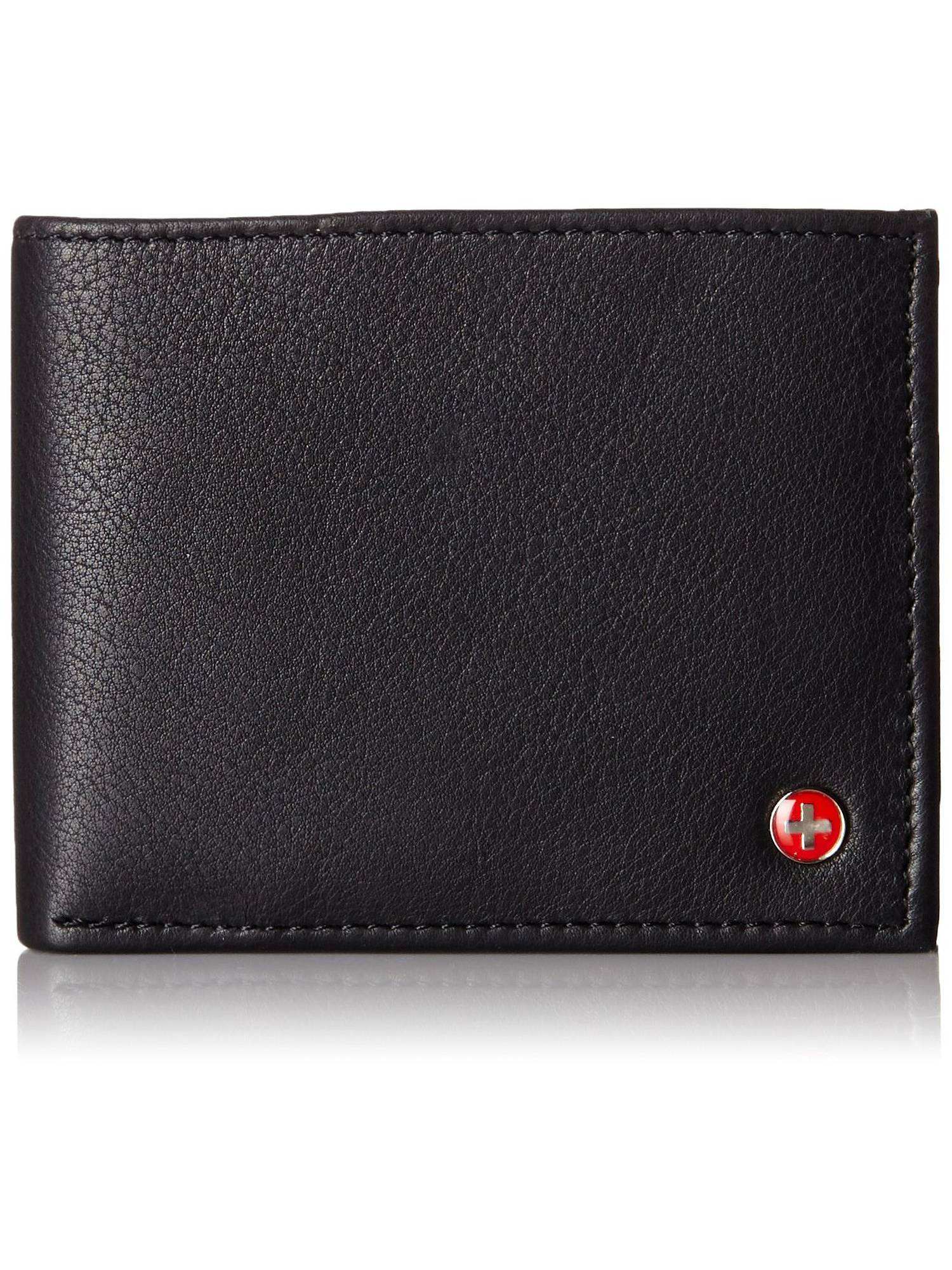 Alpine Swiss Rfid Blocking Mens Bifold Wallet Keep Ideny Credit Cards Safe