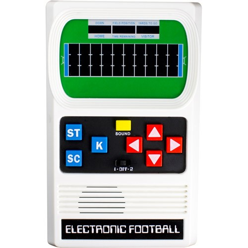 Football Electronic Game - Handheld - Mattel Classic
