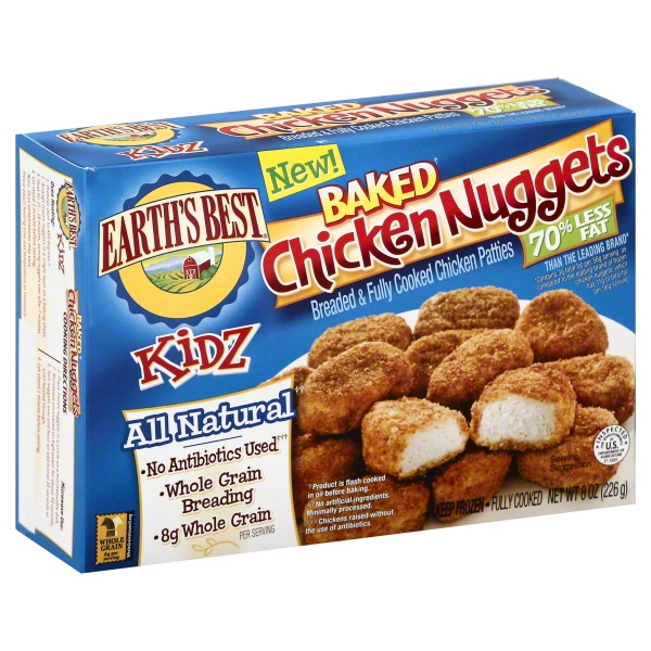 Earths Best Eb Baked Chicken Nuggets