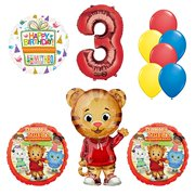 Daniel Tiger Neighborhood 3rd Birthday Party Supplies and Balloon Decorations