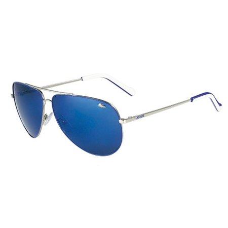 66c892d7152 LACOSTE - Sunglasses LACOSTE L 129 S 045 SILVER - Walmart.com