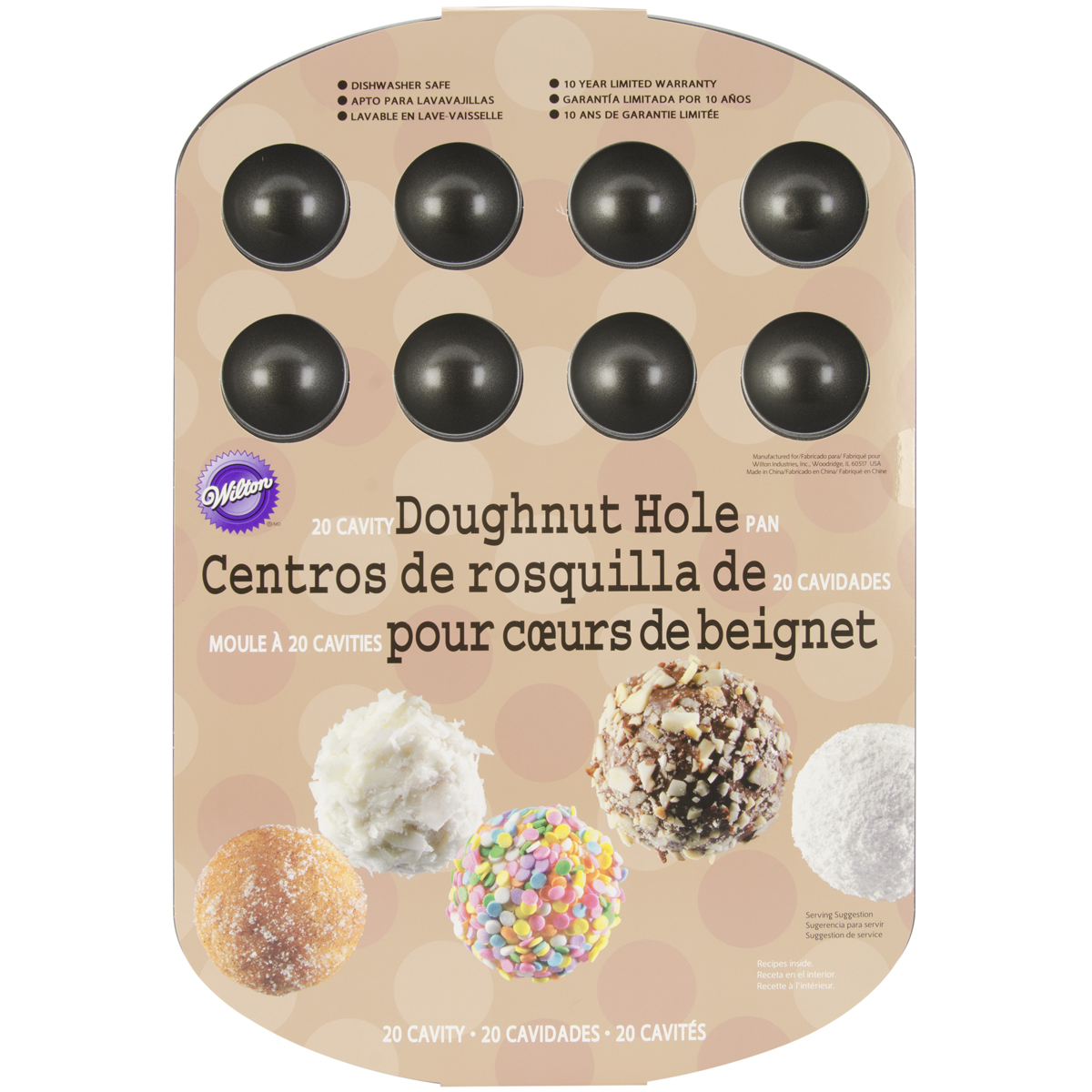 Wilton 20-Cavity Doughnut Hole Pan 2105-0129