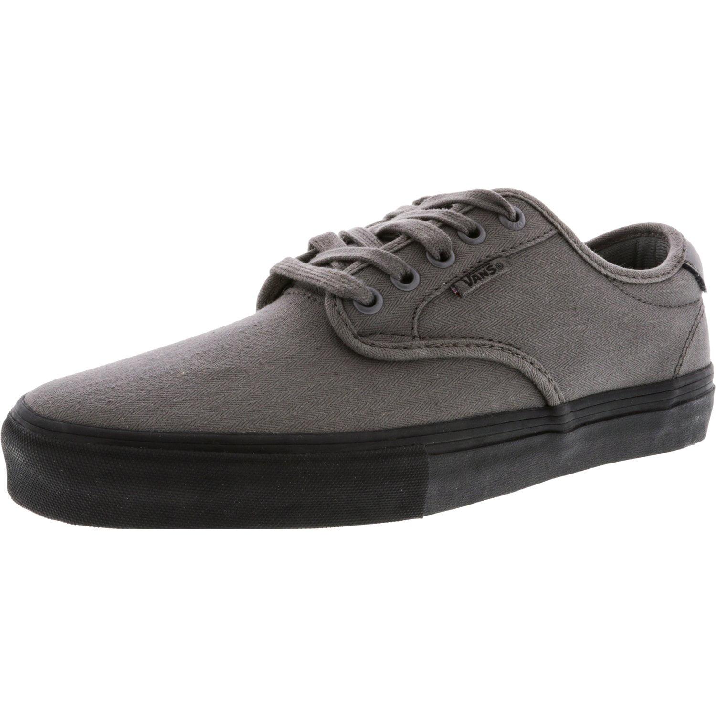 593a4d15a0 Vans - Vans Men s Chima Ferguson Pro Mono Pewter Ankle-High Canvas  Skateboarding Shoe - 8.5M - Walmart.com