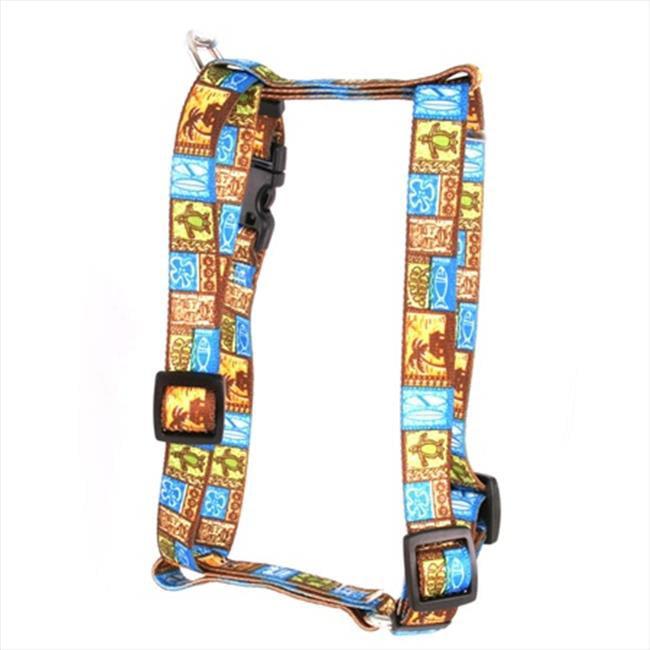 Yellow Dog Design Tiki Print Roman Harness