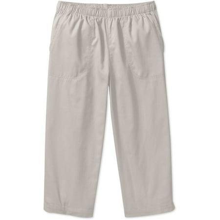 White Stag Women S Pull On Capri Pants Walmart Com
