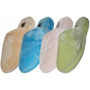Easy USA S531-L Lady Plush Slippers - Light Colors, 36 Pairs