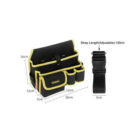 Professional Canvas 14 Tool Pockets, Fully Adjustable Waterproof Work Belt - image 1 of 4
