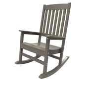 Porch Rocker by Malibu Outdoor - Glendale, Weathered Wood