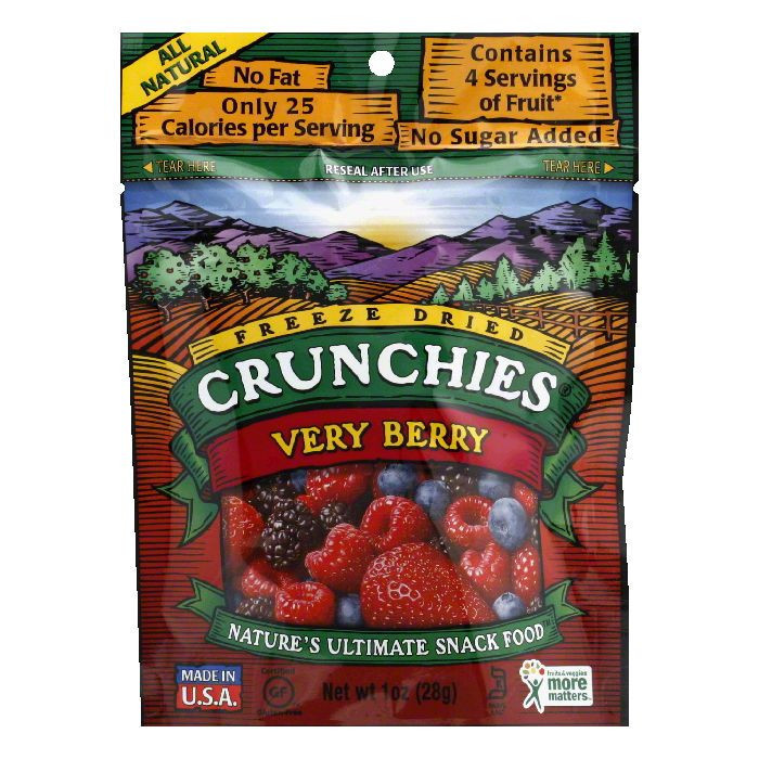 Crunchies Very Berry Crunchies, 1 OZ (Pack of 6)