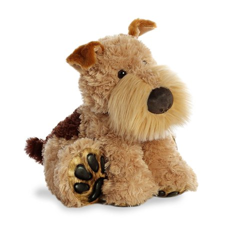 Fox Terrier Big Paws 13 Inch - Stuffed Animal by Aurora Plush (02503)