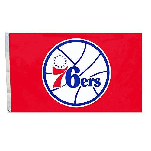 DEYOU Philadelphia 76Ers Flag 3x5 Feet Banner Flag