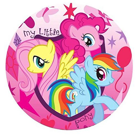 My Little Pony Round Edible Image Photo Cake Topper Sheet Birthday Party