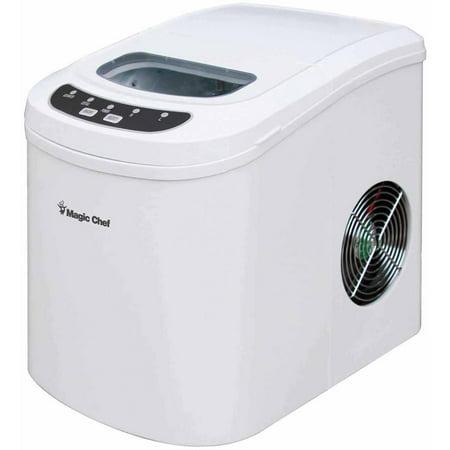 Magic Chef Countertop Ice Maker Parts : Magic Chef Portable Countertop 27-Pound Ice Maker, White Home Garden ...