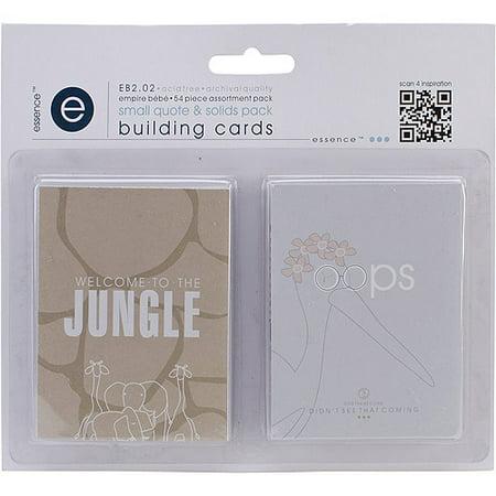 Empire Bebe Building Cards  54Pk  Quotes