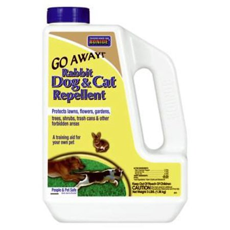 Go Cat Rabbit - Go Away 3 LB Rabbit Dog & Cat Repellent Granules