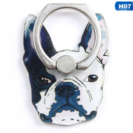TURNTABLE LAB Bulldog Husky Animal Cell Phone Stand Finger Ring Smart Dogs All Mobile Ph#win (Turntable Outer Ring)