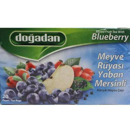 Blueberry Fruit Tea (Dogadan Mixed Fruit Tea With Blueberries -20)