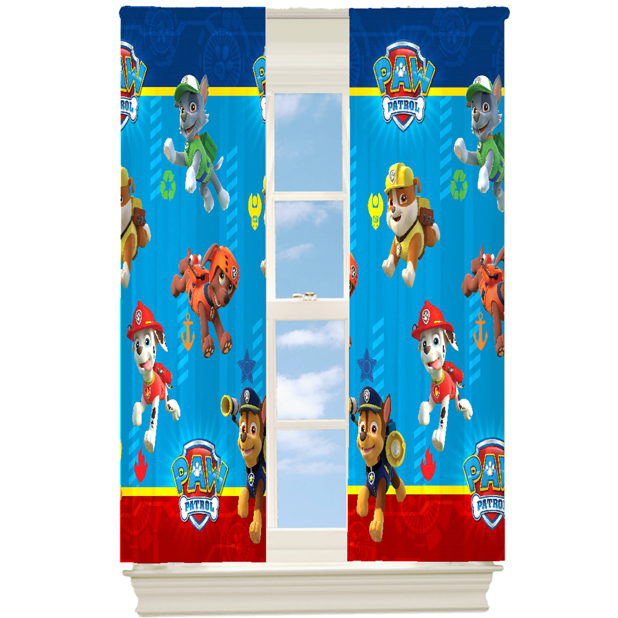 "Paw Patrol 63"" Room Darkening Drapery Panel"