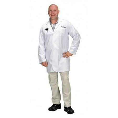 White Doctor's Coat (Adult Doctor Lab Coat)