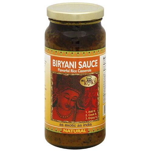 Mr. Kook's Biryani Sauce, 16.5 oz, (Pack of 6)