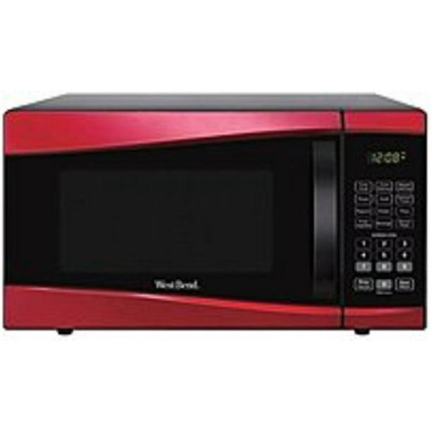 West Bend Em925ajw P2 0 9 Cubic Feet 900 Watts Microwave Oven Refurbished Walmart Com Walmart Com