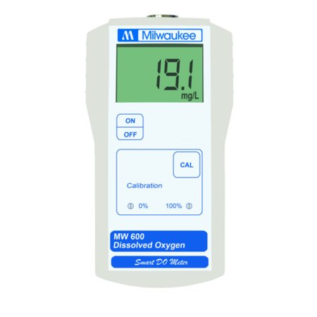 Milwaukee Instruments Portable Dissolved Oxygen Meter Micro Processor MW600