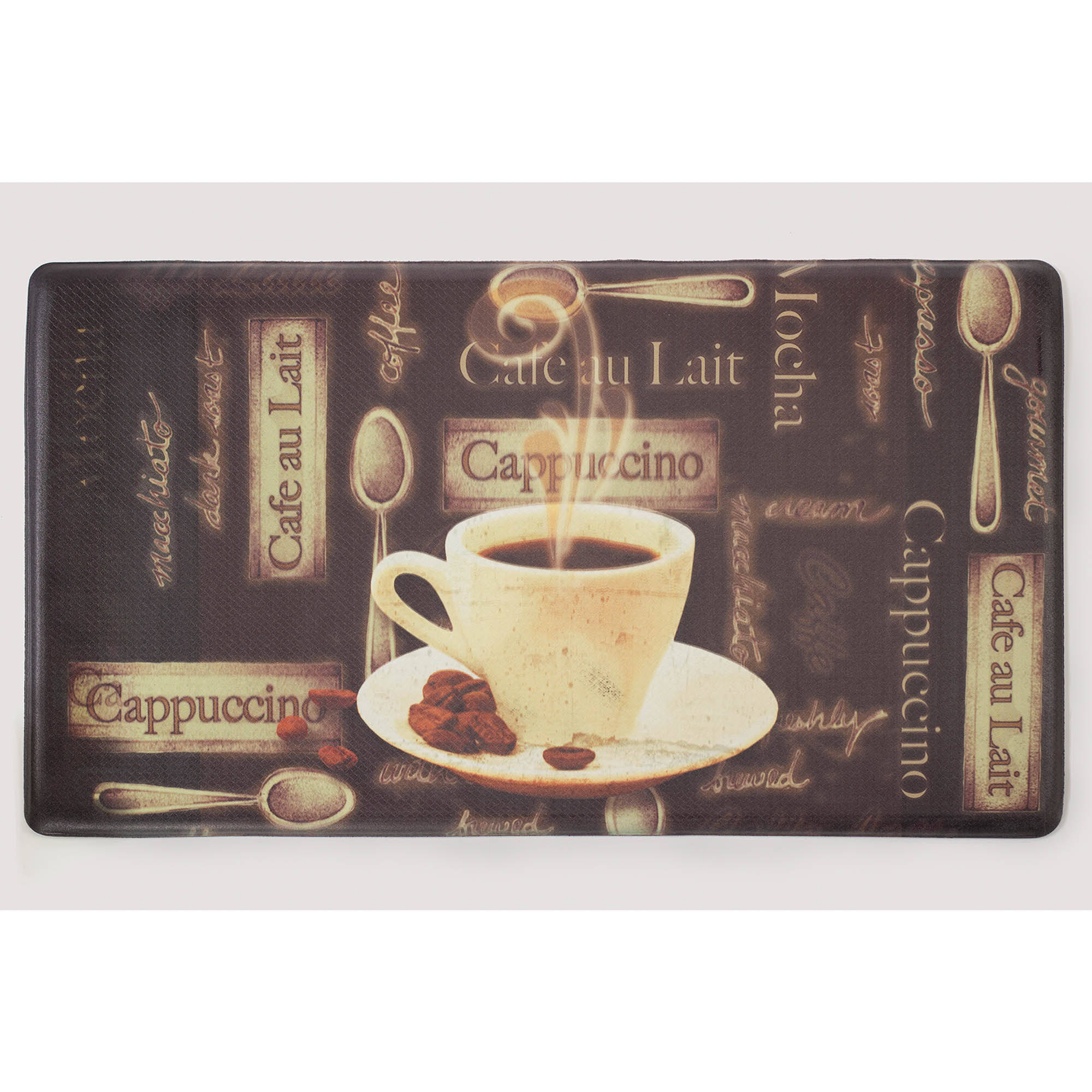 Chef Gear Café Au Lait Anti-Fatigue Gelness Comfort Chef Mat