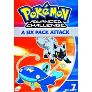 Pokemon (Video): Pokemon Advanced Challenge V07-Six Pack Attack (Other) by WARNER HOME VIDEO