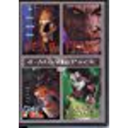4 movie pack The fear / the fear:halloween night / grim / killer tongue
