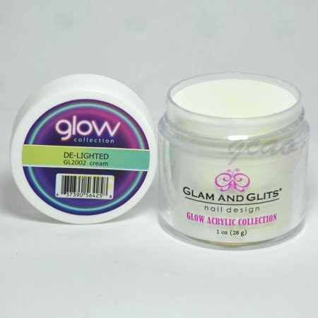 Glam and Glits GLOW ACRYLIC Glow in the Dark Nail Powder 2002 -