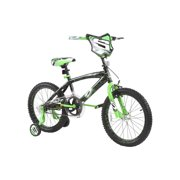 "Dynacraft 18"" Surge Boys' BMX Bike, Black/Green"