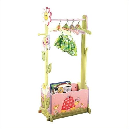 (Fantasy Fields - Magic Garden Dress Up Valet Rack w/ 4 Hangers)