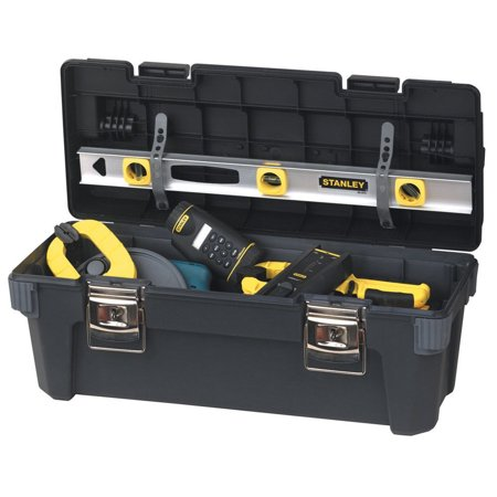 STANLEY 26 Inch Professional Tool Box With Full Length Handle   026301R