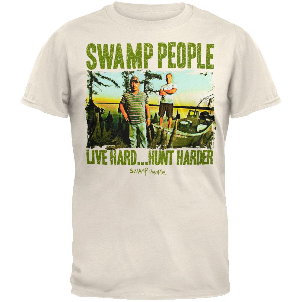 Swamp People - Live Hard Hunt Harder T-Shirt