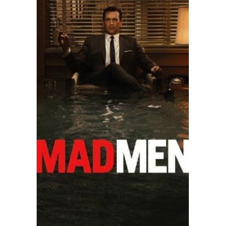 Mad Men - Don Draper Flood Poster Poster Print (Don Draper Glasses)