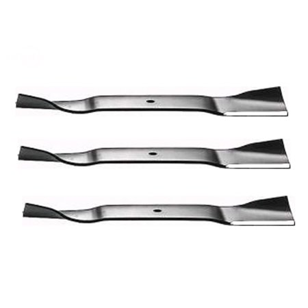 "Image of ""Set Of (3) Blades Snapper 17""""X 1/2"""" High-Lift Replaces: COUNTRY CLIPPER H-1714 COUNTRY CLIPPER H1714"""