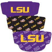 LSU Tigers WinCraft Adult Face Covering 3-Pack