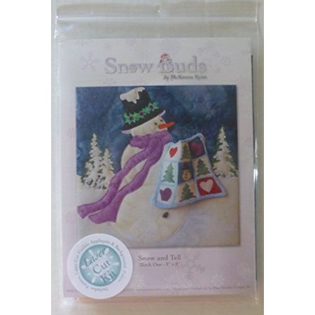 Pine Needles by McKenna Ryan~SNOW BUDS 01~Pre-Cut Laser Applique Kit ~Snow and (Best Blower Vac For Pine Needles)