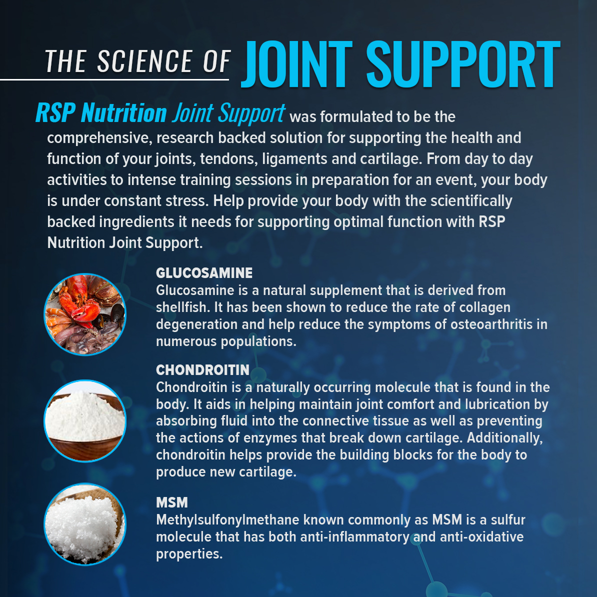 RSP Nutrition Joint Support, Joint Strength & Flexibility Support,  Anti-Inflammatory & Antioxidant, 180 Ct