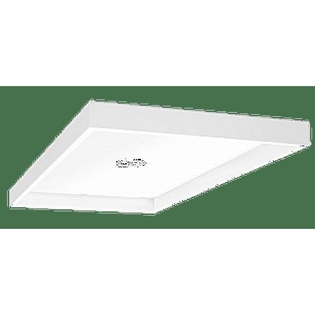 RAB Lighting EZPAN 2X4 Surface Mounting Kit White