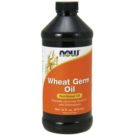Wheat Germ Oil - NOW Foods Wheat Germ Oil, 16 Fl Oz