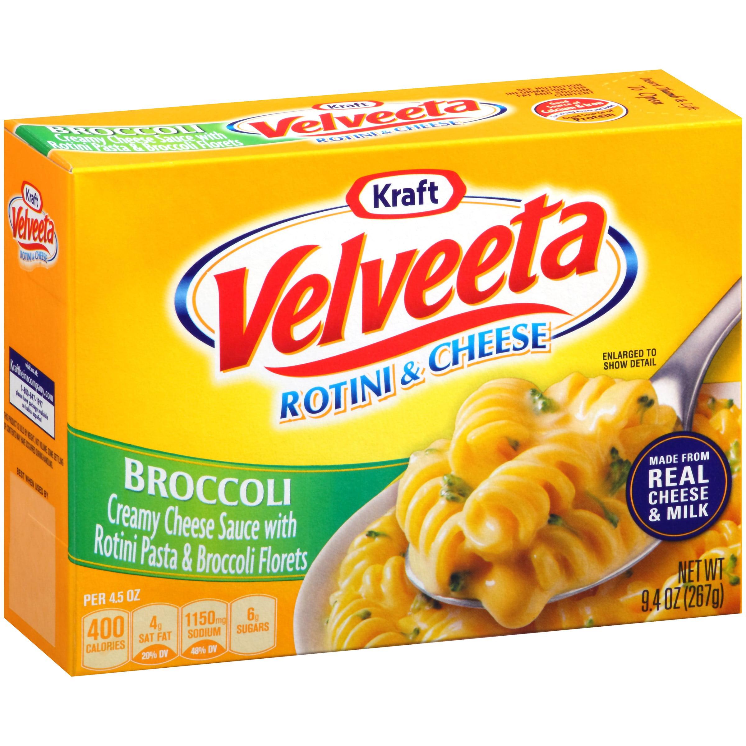 Kraft Velveeta Broccoli Rotini & Cheese 9.4 oz. Box by Kraft