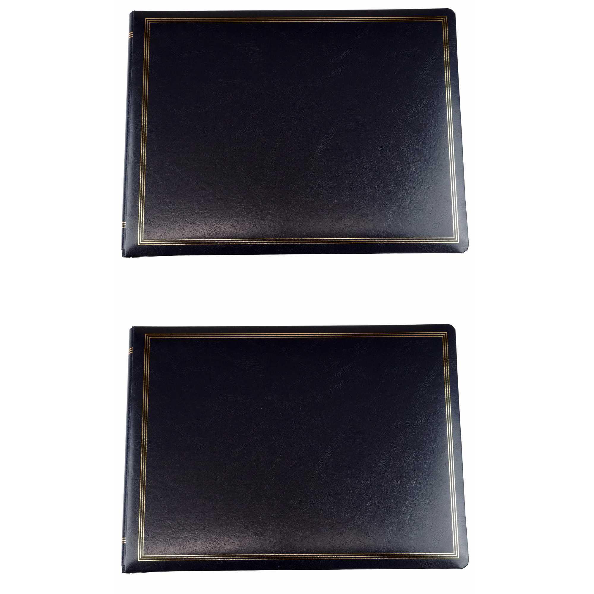 Pioneer Jumbo Magnetic Page X-Pando Photo Album Black 2-Pack by Pioneer Photo Albums