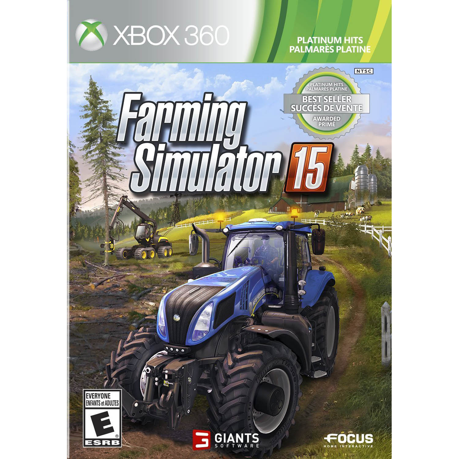 Image of Farming Simulator 15 Platinum Hits (X360)