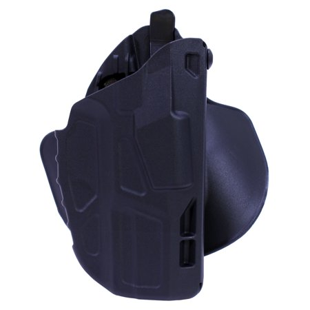 Smith Aos Motor (Safariland 7TS ALS Open Top Concealment Paddle Holster Smith & Wesson M&P 9/40, Plain Black/Right)
