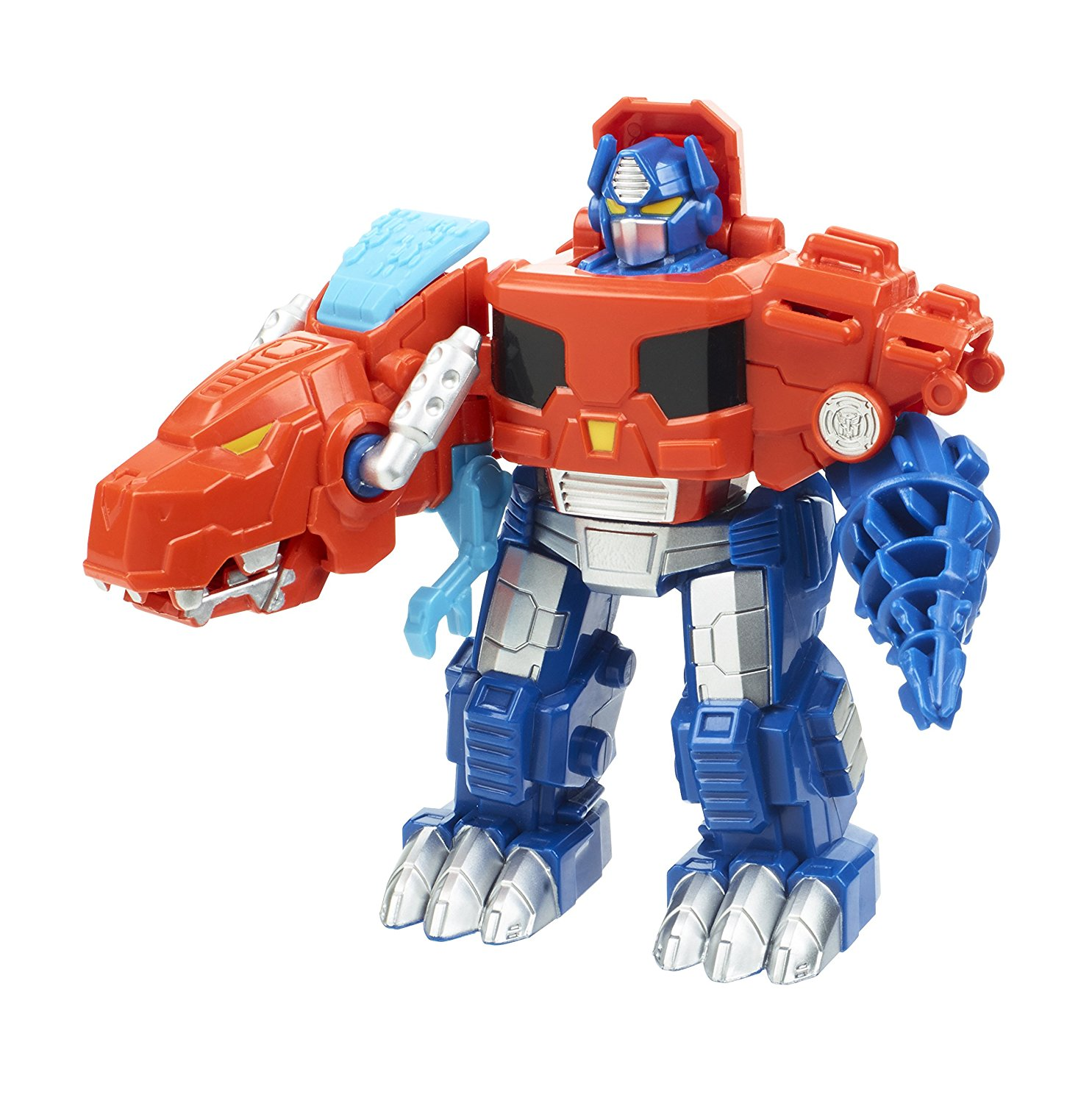 Heroes Transformers Rescue Bots Optimus Prime Figure, Kid-sized Rescue Bots figure looks... by